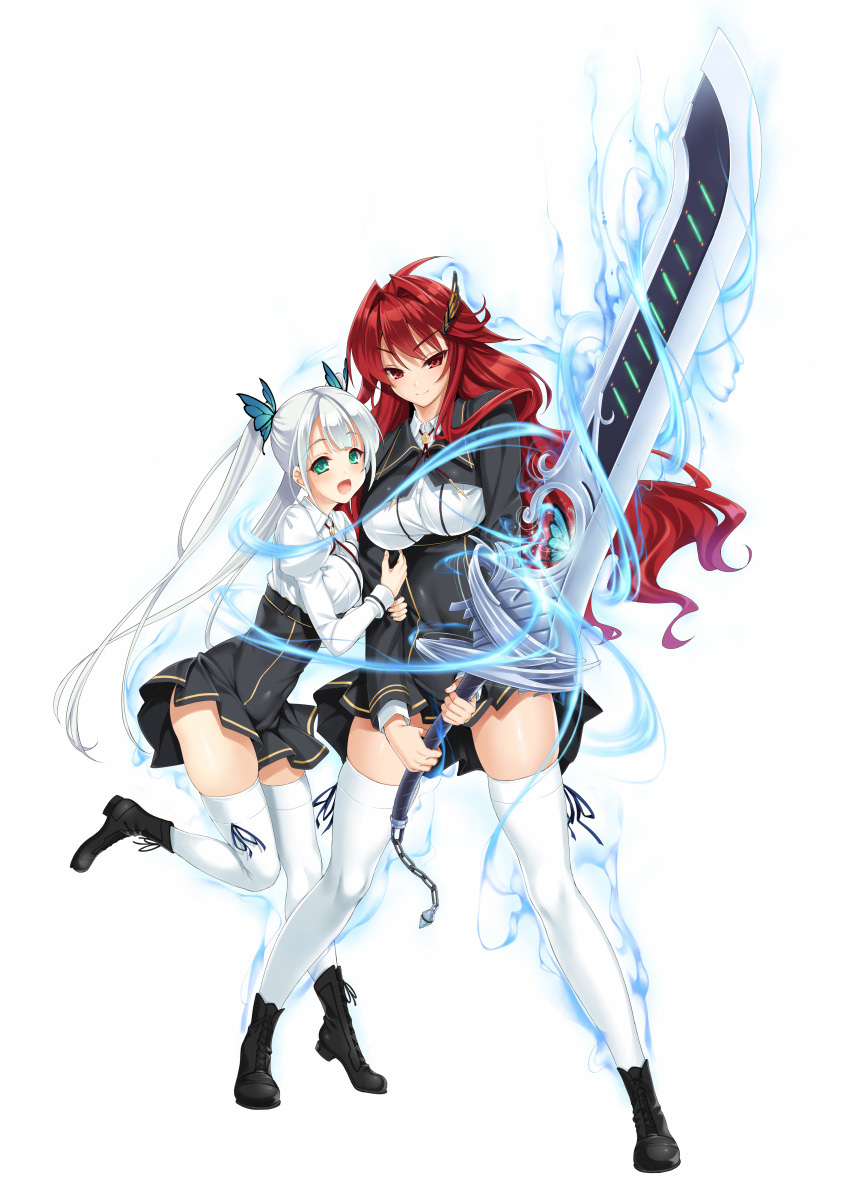 Valkyrie-Drive--Siren--Character-Visual