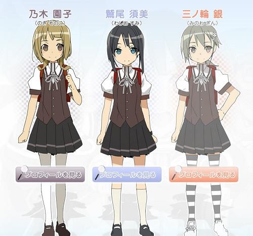 Washio Sumi Wa Yuusha De Aru Character Designs