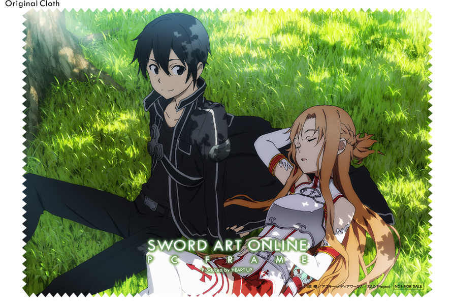 Wear Your Glasses in Style with Sword Art Online Character Glasses haruhichan.com Sword Art Online anime glasses Aincard Kirito 2
