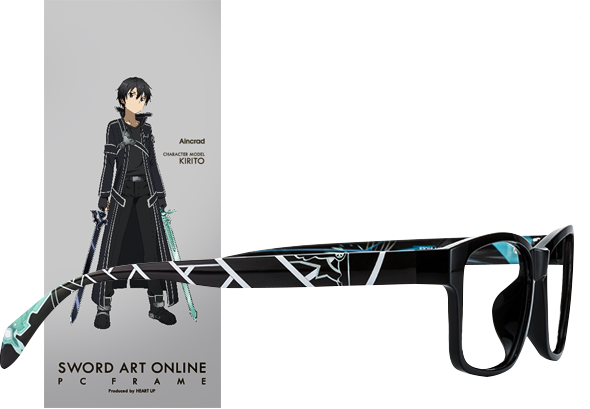 Wear Your Glasses in Style with Sword Art Online Character Glasses haruhichan.com Sword Art Online anime glasses Aincard Kirito