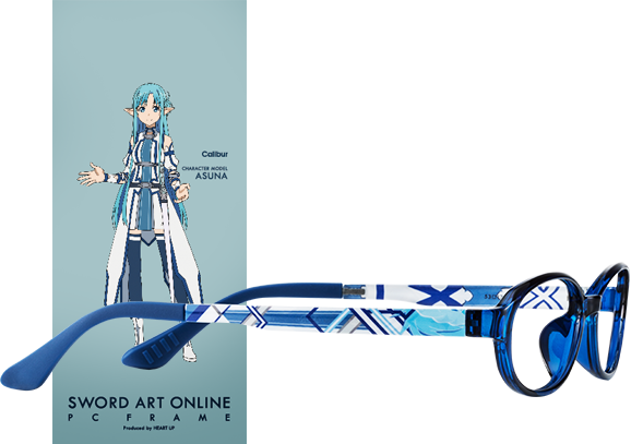 Wear Your Glasses in Style with Sword Art Online Character Glasses haruhichan.com Sword Art Online anime glasses Caliber Asuna
