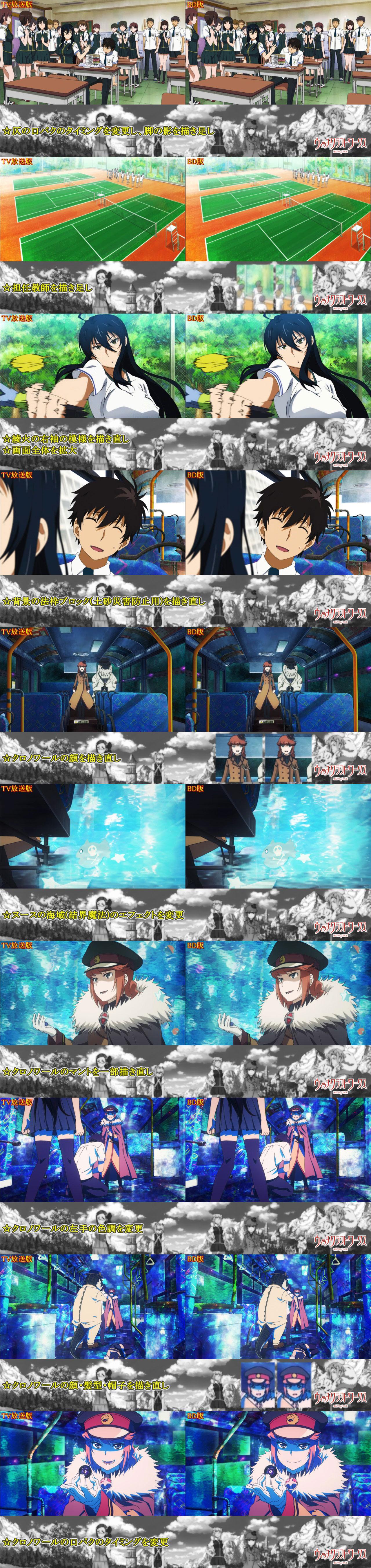 Witch Craft Works TV Blu-ray Comparison 2