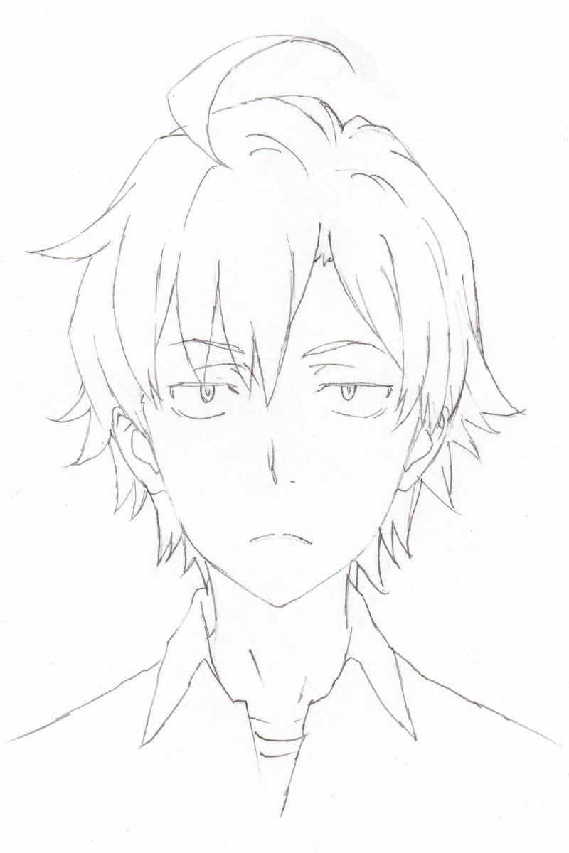 Yahari Ore no Seishun Love Comedy Wa Machigatteiru._Haruhichan.com_Haruhichan.com 2nd Season-Character-Design-Hachiman-Hikigaya
