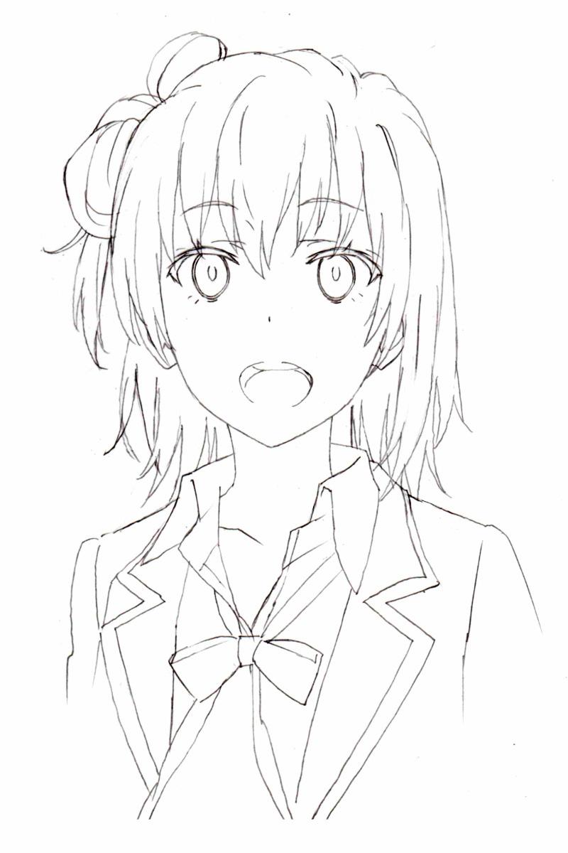 Yahari Ore no Seishun Love Comedy Wa Machigatteiru._Haruhichan.com_Haruhichan.com 2nd Season-Character-Design-Yui-Yuigahama