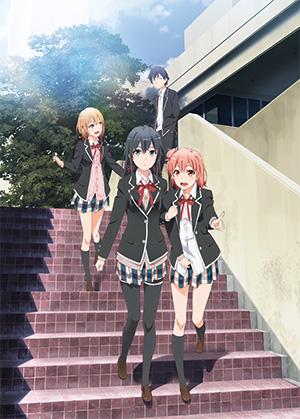Yahari Ore no Seishun Love Comedy wa Machigatteiru. Zoku anime visual oregairu 2