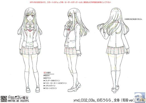 Yamada-kun to 7-nin no Majo character design haruhichan.com Yamada-kun and the Seven Witches character design Toranosuke Miyamura