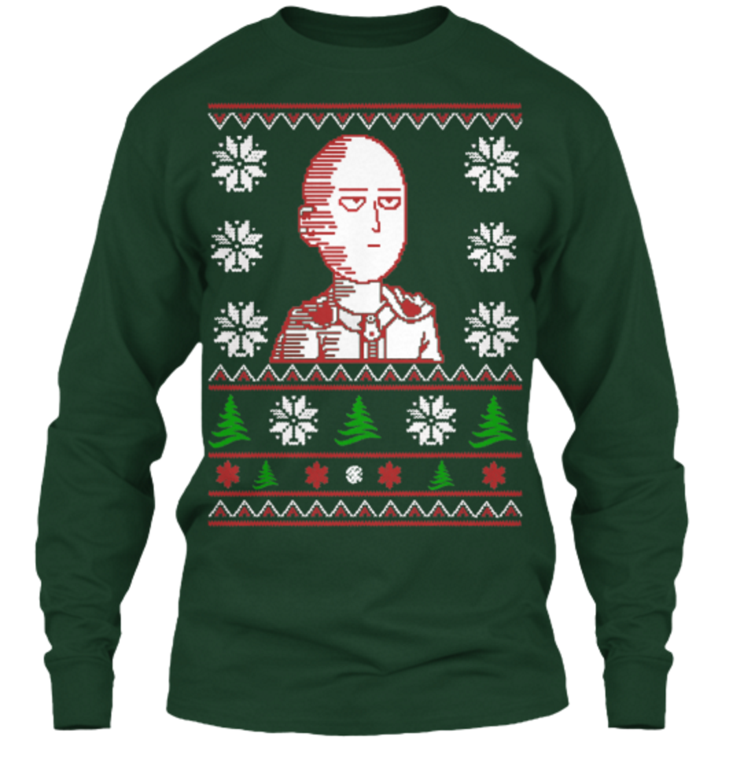 You Can Be an S Rank Hero with This New Saitama Christmas Sweater 10