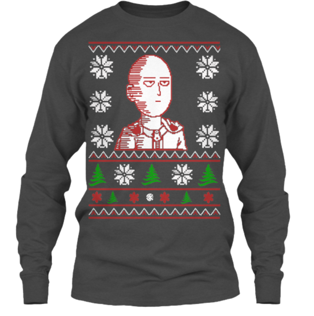 You Can Be an S Rank Hero with This New Saitama Christmas Sweater 5