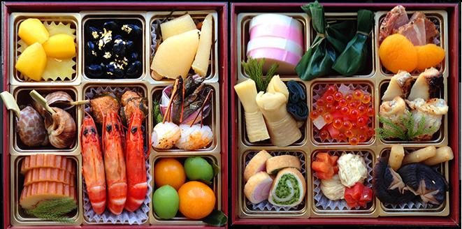 Yozakura Quartet bento meal