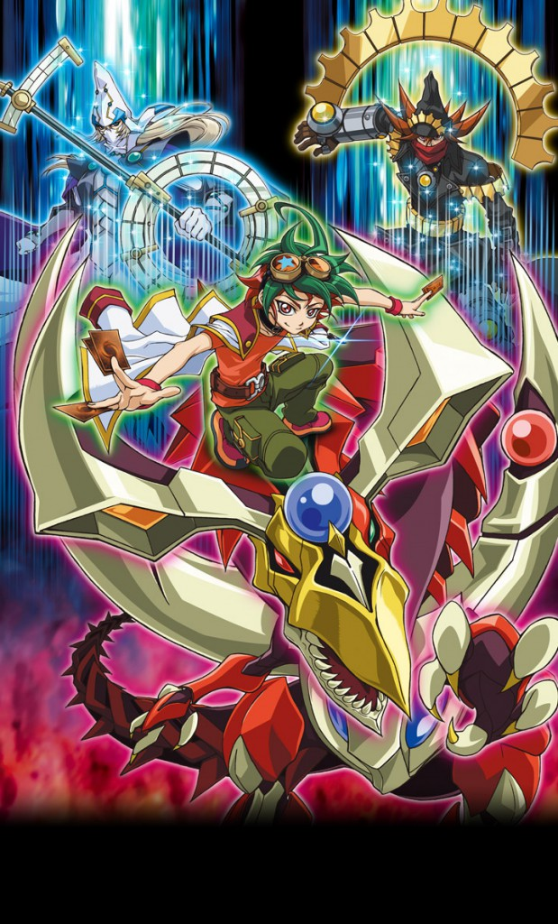 Yu-Gi-Oh Arc-V Anime Visual