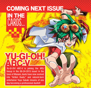 Yu-Gi-Oh Arc-V Announcement