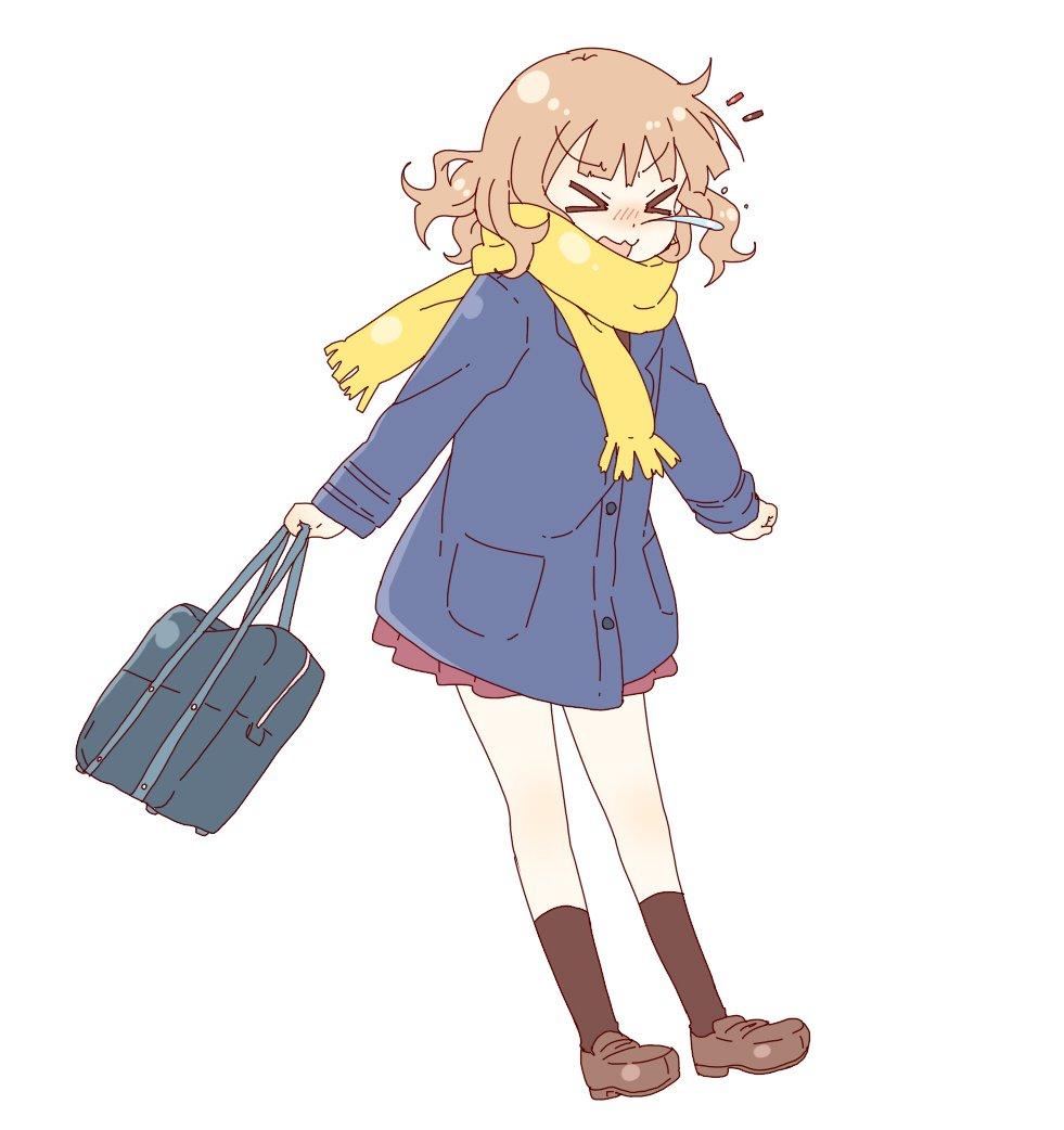 Yuru Yuri Christmas Sketch 2