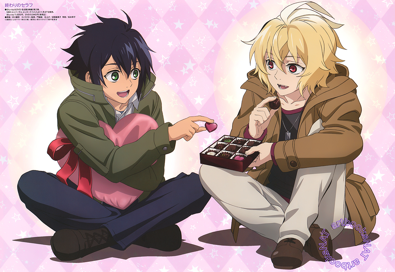 Yuu and Mika Share a Valentine'S Day Box of Chocolates in New Visual
