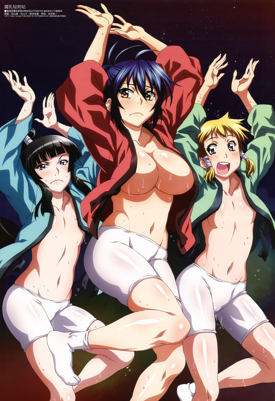 manyuu hikenchou anime visual