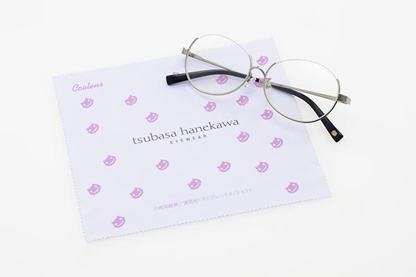 monogatari glasses white x pink