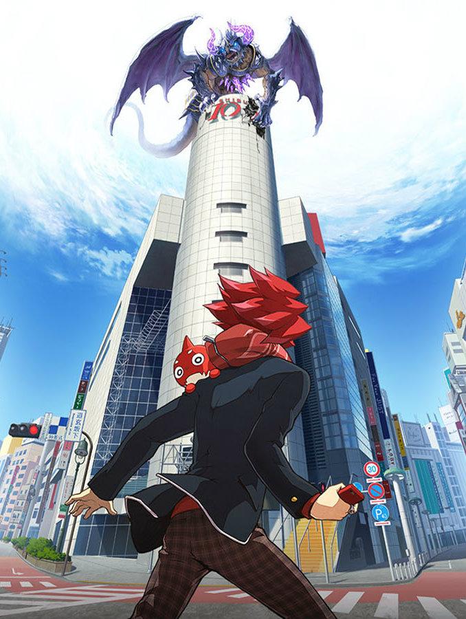 monster strike anime visual