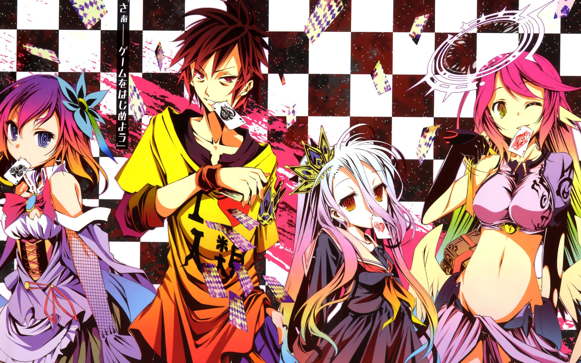 no game no life anime visual