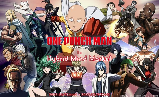 one punch man in hybrid mind market visual