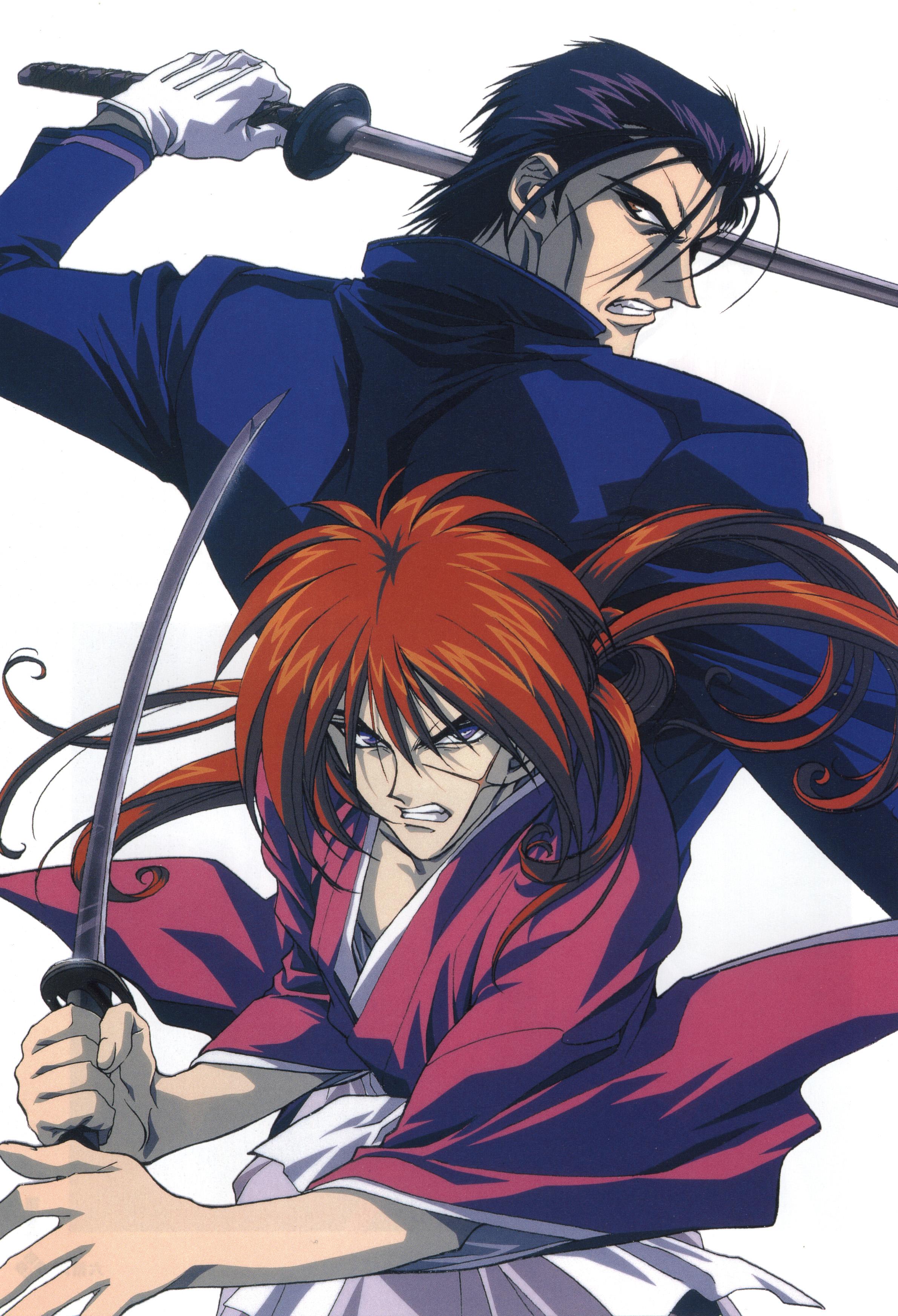 rurouni kenshin anime visual
