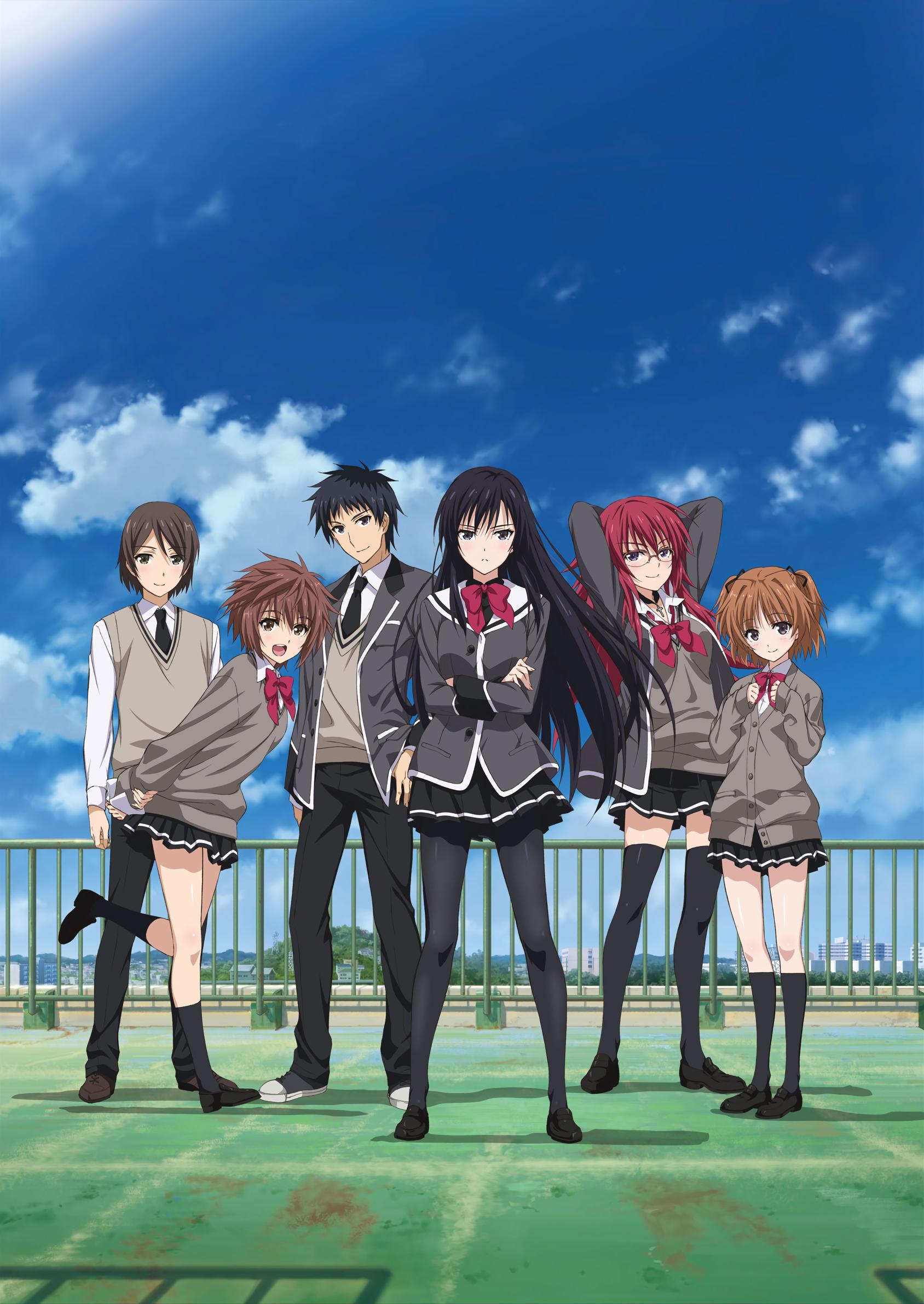 shoujo-tachi wa kouya wo mezasu anime visual