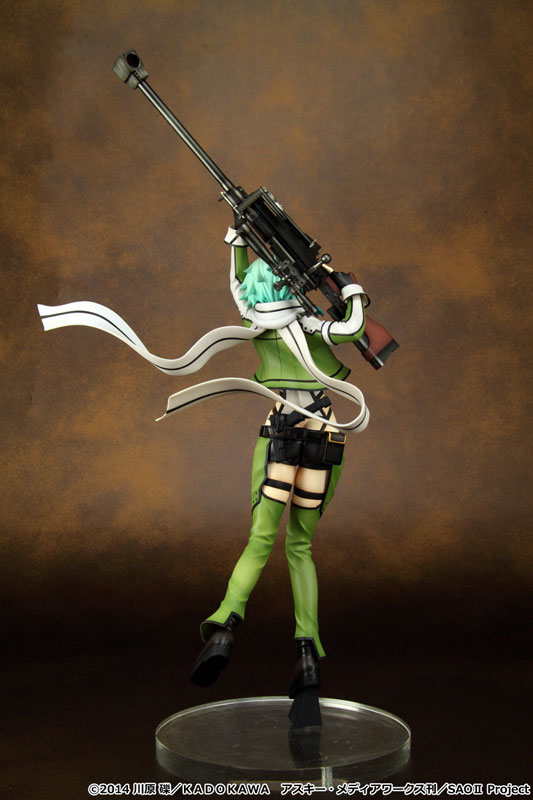 sword art online ii Sinon 1 7 scale anime Figure 002