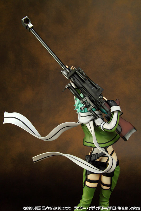 sword art online ii Sinon 1 7 scale anime Figure 007