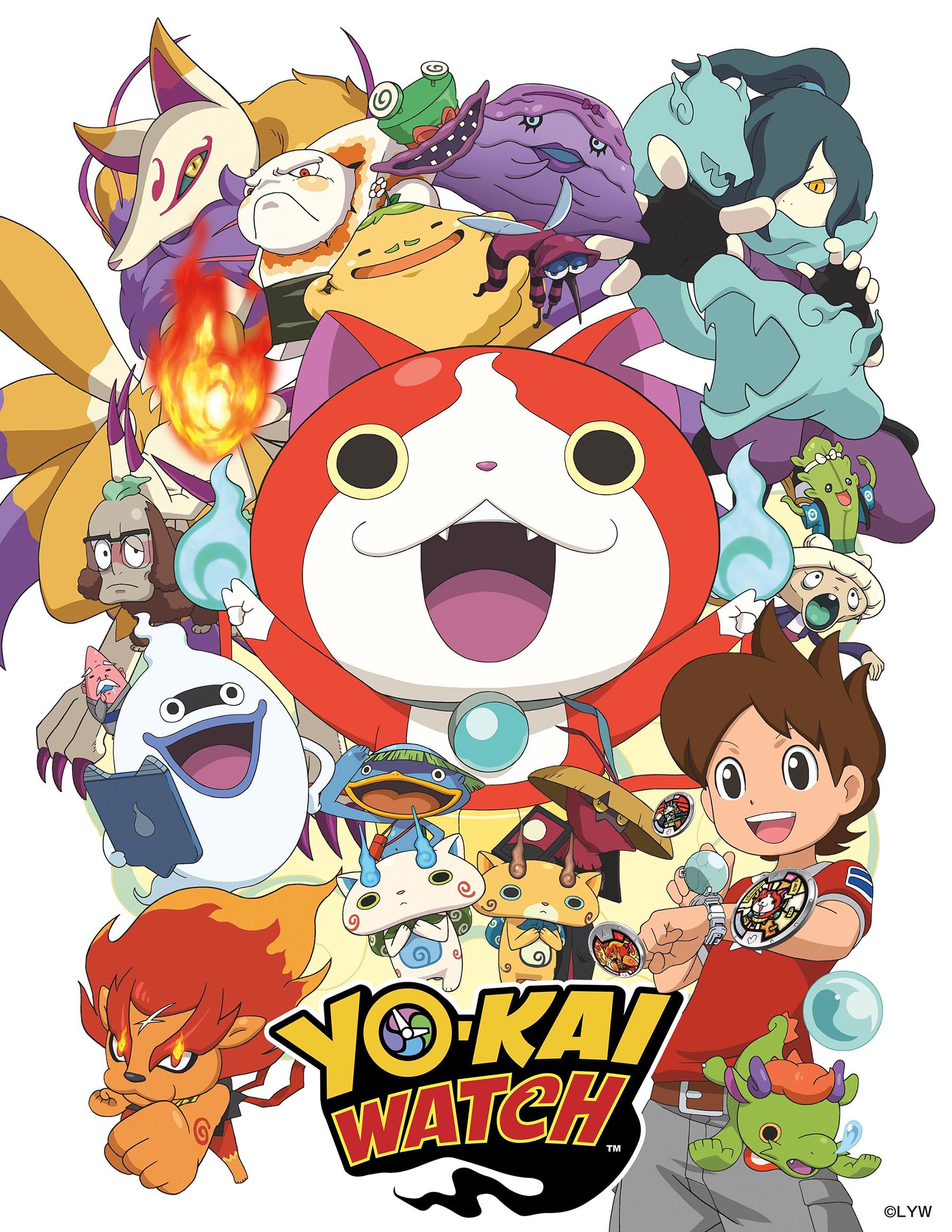 youkai watch anime visual haruhichan.com yokai watch visual